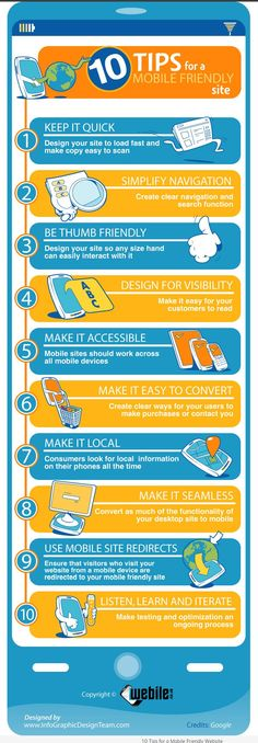 10 Tips for a Mobile Friendly Site