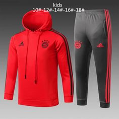 9a44a25f46b Bayern Munchen 18 19 Red Kids ( Youth) Tracksuit Slim Fit (Sweatshirt)