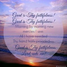 Great is Thy Faithfulness!  Free Shipping 10/24/16 thru 11/24/16 on ALL purchases: etsy.com/shop/SowingAcorns #free shipping #silk scarves #love #jesus #god nuggets #womens scarves #sowing acorns #carolina panthers scarf #clemson scarf #long scarves #sports apparel #women's accessories #scarves and wraps #accessories #purses #totes #jewelry #clothing #fashion designer #fashionista
