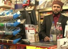 Collect of Asad Shah who was stabbed to death outside his Glasgow newsagents only hours after posting a Happy Easter message on social media. See SWNS story SWMUSLIM; A popular Muslim shopkeeper has been stabbed to death in the street - just four hours af