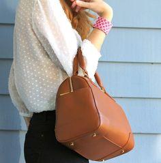 Ladylike accessories.