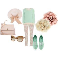 Spring Outfit with Keds.