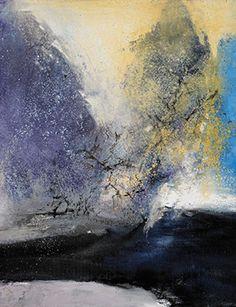 Zao Wou-Ki (1920 – 2013), 15.2.93 (Lot 28) 1993 (detail), oil on canvas, 162 x 150 cm