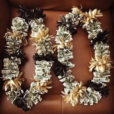Kids Personalized Luau Party Favors Flower Lei Bracelets Children's Jewelry Name Bracelet Tiki Party Moana Themed Party Garden Party Clay Luau Party Favors, Tiki Party, Birthday Party Decorations, Money Lei, Money Origami, Moana Themed Party, Graduation Gifts, Graduation 2016, Birthday Money