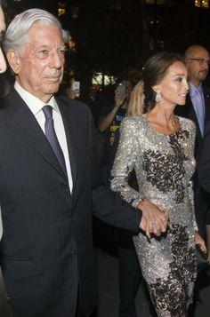 Mario Vargas LLosa e Isabel Preysler en Nueva York