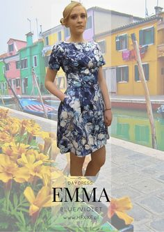 EMMA by Hexxe col. blue/violeg type: short