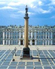 San Petesburgo, La Plaza del Palacio con el Museo del Hermitage