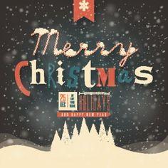 Retro Christmas cute background 02 vector