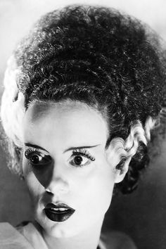 bride of frankenstein, film, 1935, 1930s, elsa lanchester