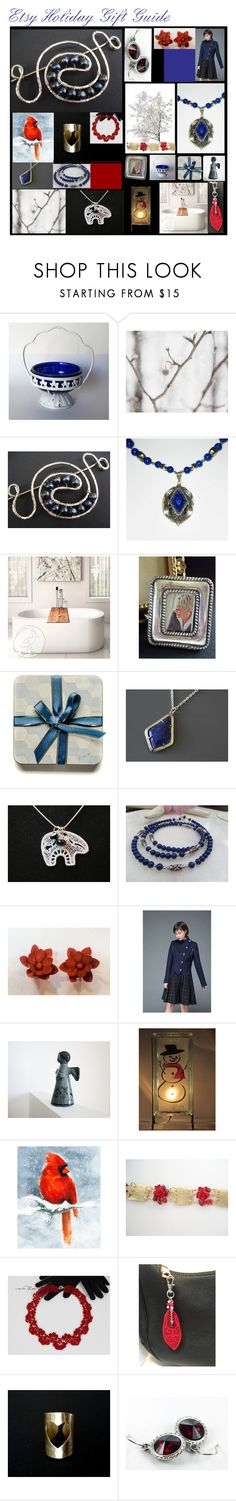 """""""Etsy Holiday Gift Guide"""" by anna-ragland ❤ liked on Polyvore featuring Lazuli and vintage"""