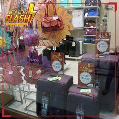 Agora é a hora de troca de bolsa!  A Le Postiche também está no Liquida Flash, e quem ganha é você!