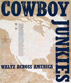 GigPosters.com - Cowboy Junkies