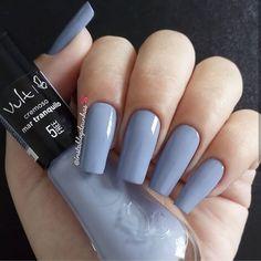 Pretty Nail Colors, Pretty Nails, Perfect Nails, Gorgeous Nails, Garra, Nail Paint Shades, Nail Art Designs Videos, Classy Nail Designs, Manicure E Pedicure