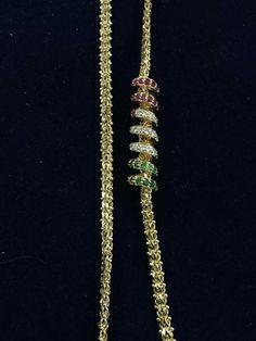 India Jewelry, Gold Jewelry, Indian Jewellery Design, Jewelry Design, Gold Chain Design, Mens Gold Bracelets, Gold Chains, Wedding Jewelry, Jewelry Collection