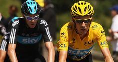Co-leaders? Bradley Wiggins, right, and Chris Froome, left, could be both team-mates and rivals at next year's Tour de France
