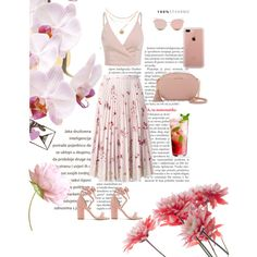 Gentle Girl by emina-la on Polyvore featuring polyvore, fashion, style, RED Valentino, Raye, MICHAEL Michael Kors, Belkin, Stephane + Christian and clothing
