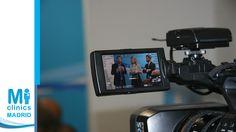 Javier Hidalgo, Director Médico de Mi Medical Clinics, Mónica Medina, Directora Médica de Madrid Norte, y Manuel Guzmán, enfermero y socio de Madrid Norte, durante la rueda de prensa