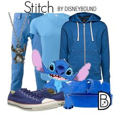 """Stitch"" by leslieakay on Polyvore"