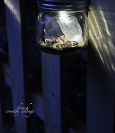 Solar powered mason jar lights