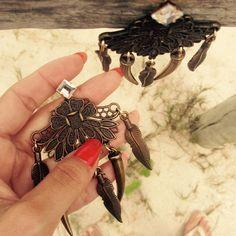 Lagertha – Maxi brinco inspirado na guerreira Viking