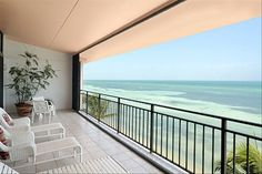 Commanding views of the ocean. Cuba is just 90 miles away. BeachSide Vacation Rental - VRBO 183996 - 2 BR Key West Condo in FL, Exclusive Key West Beach Front - Amazing View of the Ocean.