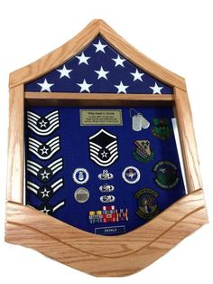online shopping for Air Force Master Sergeant (MSgt) Shadow Box/Retirement Display from top store. See new offer for Air Force Master Sergeant (MSgt) Shadow Box/Retirement Display Military Retirement Parties, Retirement Gifts, Retirement Ideas, Flag Display Case, Coin Display, Display Cases, Display Ideas, Drink Bar, Door Hall Trees