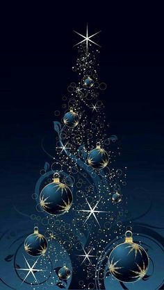 Most up-to-date Pic Christmas Wallpaper blue Style While Holiday ways, on the li… - Weihnachten Christmas Tree Wallpaper Iphone, Christmas Tree Background, Holiday Wallpaper, Christmas Scenes, Noel Christmas, Christmas Pictures, Christmas Colors, Christmas Balls, Samsung Galaxy Wallpaper