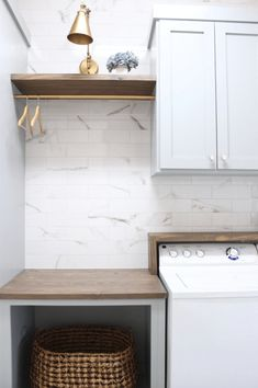 Laundry Room Organization Tips For Your Home Mudroom Laundry Room, Laundry Room Layouts, Laundry Room Remodel, Laundry Decor, Farmhouse Laundry Room, Laundry Room Organization, Laundry In Bathroom, Organization Hacks, Laundry Room Cabinets