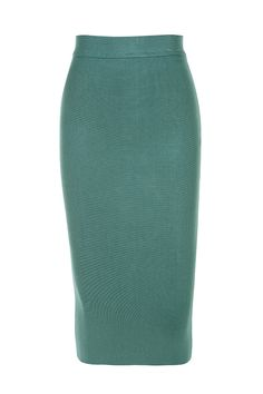 Clothing : 2 Pieces : 'Suiza' Teal Bandage Two Piece Bustier Set