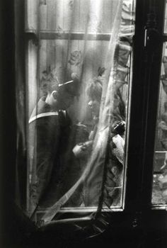 The Goodbye | Paris, 1963 | Photo Willy Ronis