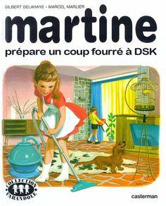 Martine prépare un coup fourré à DSK