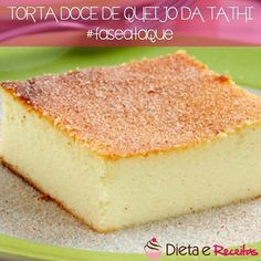 Torta de queijo doce dieta dukan