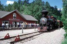 Black Hills/Mount Rushmore 1880s steam train excursion