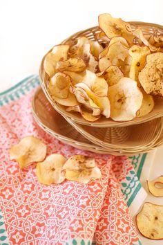 """Mela Mangio: #Apple #Chips. Conoscevi le """"patatine """" di #mele?"""