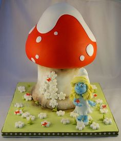 Smurfette! by ♥Dot Klerck....♥, via Flickr