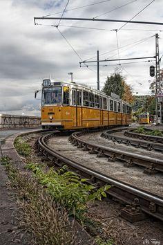 Cantilever Bridge, Art Transportation, Light Rail, Public Transport, Budapest, Around The Worlds, Train, Coaches, City