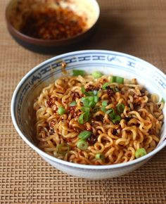Ramen Noodles with Spicy Korean Chili Seasoning