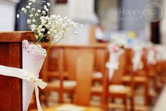 Notre mariage: nos livrets de messe et la décoration de notre cérémonie religieuse