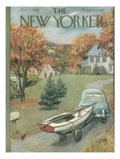 The New Yorker Cover - October 11, 1958 Poster Print by Arthur Getz at the Condé Nast Collection