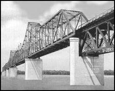 Famous Bridges - Mississippi River