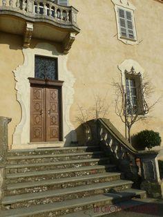 Italy, Piedmont, Monferrato hills, ancient villa