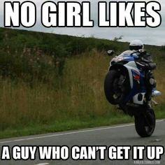 Motorcycle For Women Meme 63 Ideas Bike Humor, Motorcycle Humor, Chopper Motorcycle, Motorcycle Outfit, Easy Rider, Funny Car Memes, Car Jokes, Funny Texts, Woman Meme