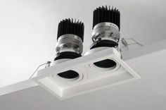 Quartet QDF250 - Recessed adjustable Xicato LED downlight | Light Fittings from High Technology Lighting