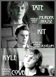 American Horror Story - Evan Peters' Characters