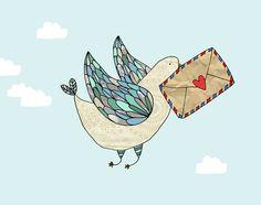 Carrier Pigeon - pip design