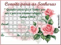 Blog Palavra Revelada Oficial ▬►Anunciando que Jesus Vem!: CONVITES PERSONALIZADOS