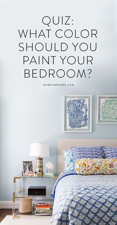 What color should you paint your bedroom? Take the quiz to find out!