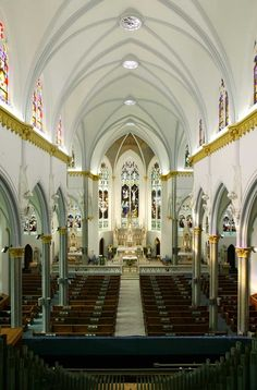 The Basilica of the Immaculate Conception is a historic Catholic church in downtown Jacksonville, Florida, U.S.  A parish church in the Diocese of St. Augustine, it represents Jacksonville's oldest Catholic congregation.