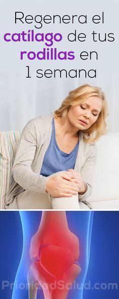 Regenera el catilago de tu rodillas en 1 semana. Herbal Remedies, Health Remedies, Home Remedies, Natural Remedies, Healthy Drinks, Healthy Tips, Healthy Skin, Health And Beauty, Health And Wellness