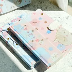 """/""""Stars Story/"""" 1pc Hard Cover Cute Cats Journal Diary Notepad Planner Notebook"""